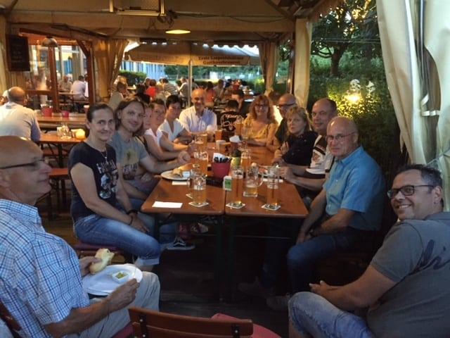 Teilnehmer beim BNN-Besuch